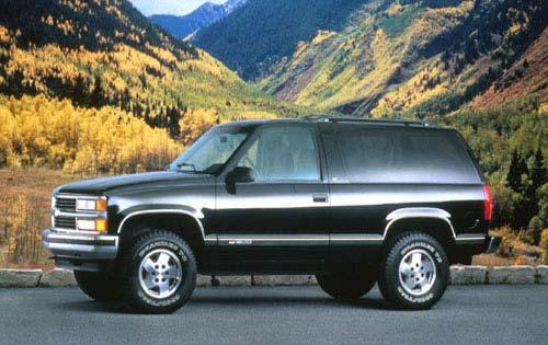 1995 1999 2 Door Chevrolet Tahoe And Yukon Gt Double Js List