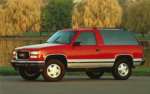 The ... & 1995-1999 2 door Chevrolet Tahoe and Yukon GT | Double Js List Pezcame.Com