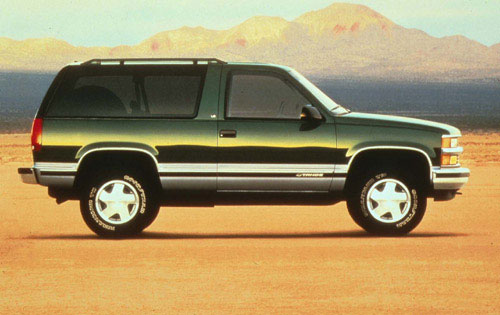 Sadly the Yukon ... & 1995-1999 2 door Chevrolet Tahoe and Yukon GT | Double Js List